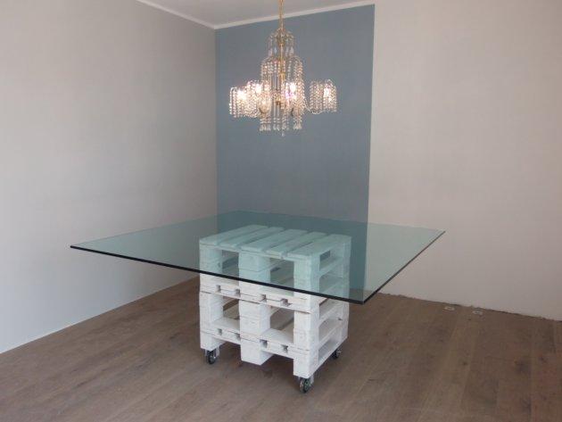 Piano d 39 appoggio in vetro temperato tavoli e scrivanie for Tavoli e scrivanie